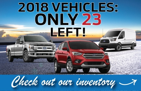 fORD 2018 cLEAROUT