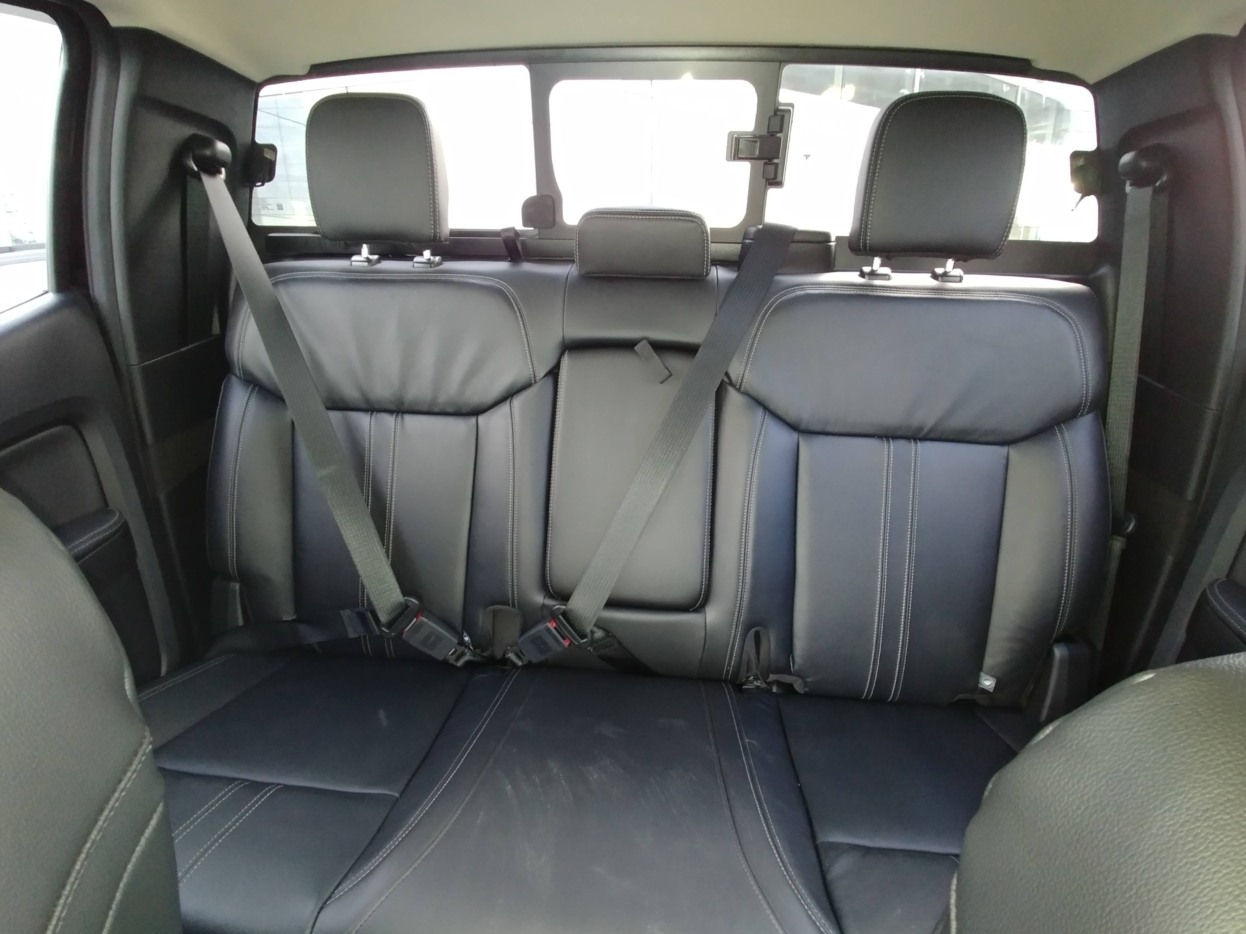 New 2019 Ranger back interior