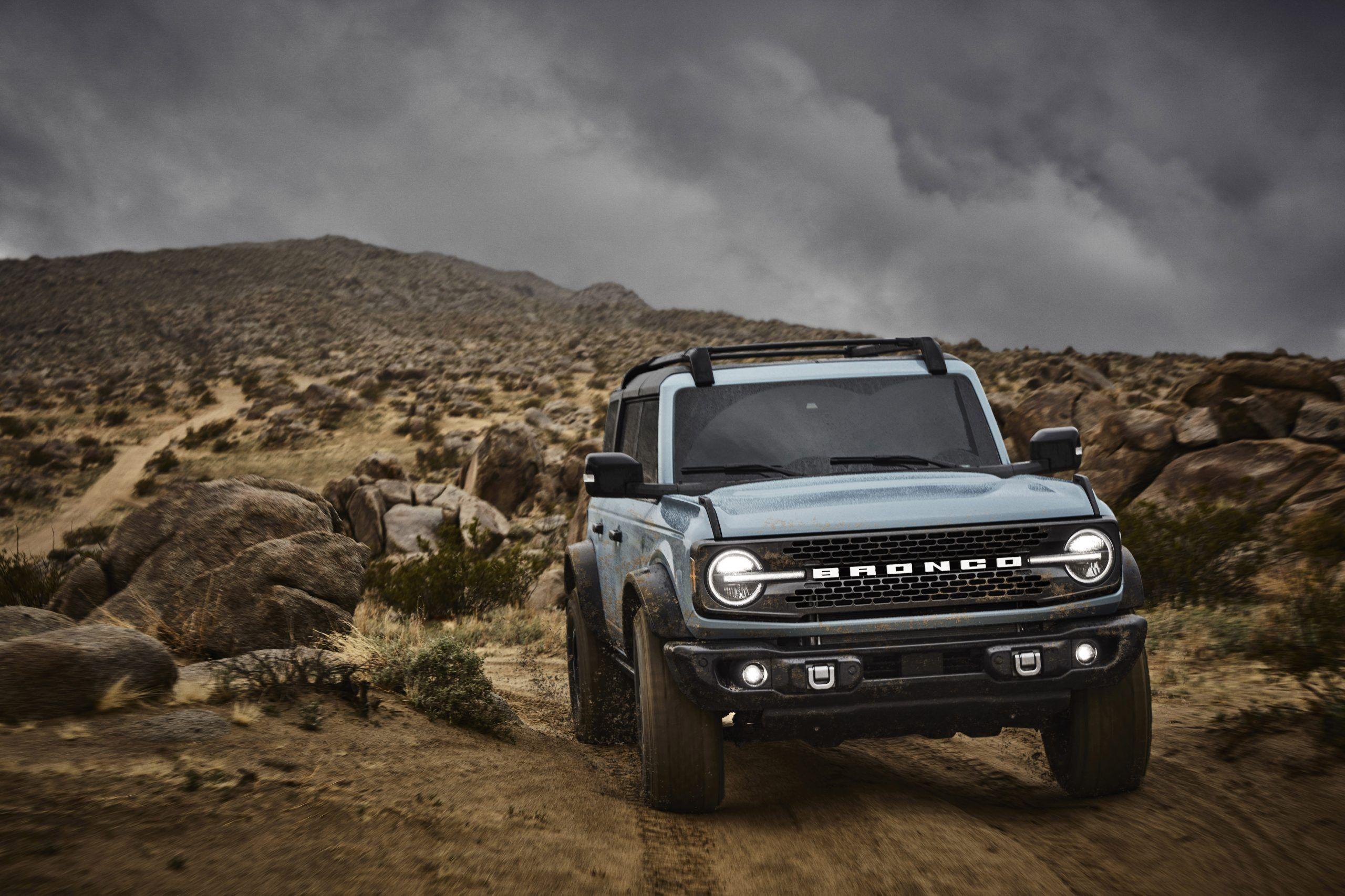 Bronco Blue